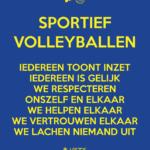 Sportief volleyballen